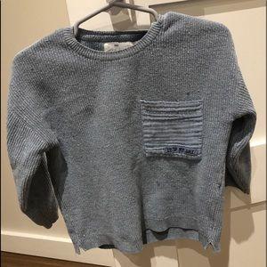 Zara toddler boy knit sweater size 18-24 months